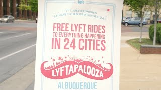 Lyft Launches 24 Cities in 1 Day