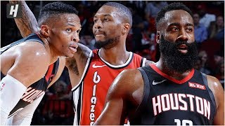Portland Trail Blazers vs Houston Rockets - Full Game Highlights   November 18, 2019 NBA Season