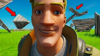 Fortnite but you can only use WEIRD BUILDS