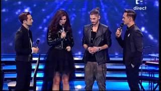 Cum au comentat juratii X Factor Romania prestatia duetului format de Alex Maţaev si Paula Seling