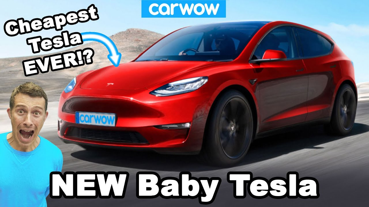 New Baby Tesla – it will cost LESS than a VW Golf!