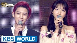 Special Collaboration - ChanYeol & NaYeon [Music Bank / 2016.06.24]