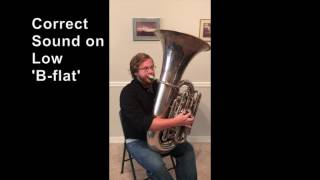 ETTH - Tuba - Correct Sound on Low 'Bb'