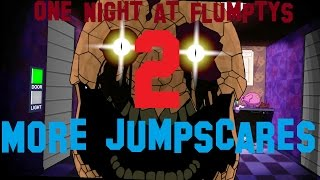 One Night at Flumty's 2: GOLDEN FLUMPTY JUMPSCARE, and Eyesaur Jumpscare!!!!