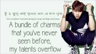Infinite H - I'm Sorry, I'm Busy ft. Swings & Champagne (Color Coded Lyrics: Han, Rom, Eng)
