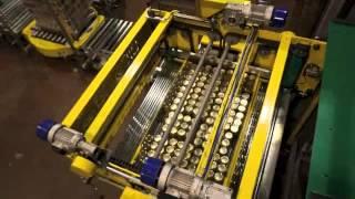 Paletizador automático de entrada superior - Dicoma Pack