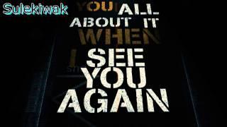 Wiz Khalifa ft  Charlie Puth   See You Again (Studio Acapella)