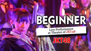 JKT48 - Beginner Live Performance at Theater of JKT48