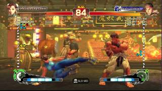 USFIV~ Chun-li (BrolyLegs) vs.  Ryu (Umeshoryu Xbl) HD