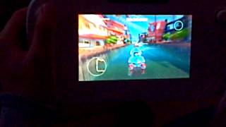 [ Wii U ]  Dan playing Sonic allstar racing transformed on the Tablet