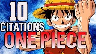 10 Citations sur One Piece -#1