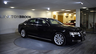 Audi A8   Black and black   Lawton Brook