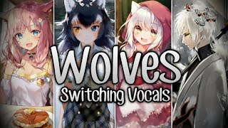 ♪ Nightcore → Wolves ♫Switching Vocals♪