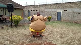 Sumo Wrestler Dancing Zigwembe