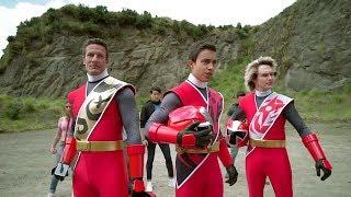Power Ranger Ninja Steel | 3 Rangers Rojo - Capitulo 20: El Levantamiento de Galvanax