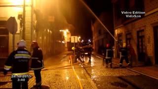 Bombeiros Ílhavo - Incêndio Rua Direita, Ílhavo