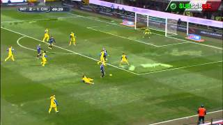 Inter Milan vs Chievo (3-1) First Half Serie A Highlights Official HD