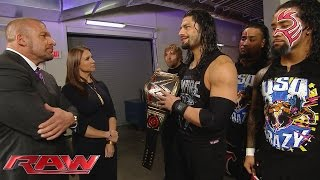 The Authority raises the stakes for Roman Reigns: Raw, November 30, 2015 width=