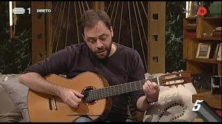 """António Zambujo canta """"Na minha cama com ela"""" - 5 Para a Meia Noite - RTP"""
