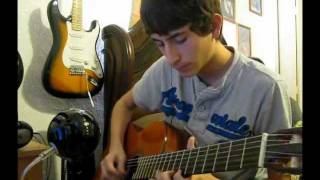 """""""Canción del Mariachi"""" - Antonio Banderas (Guitar Cover) +Tabs"""