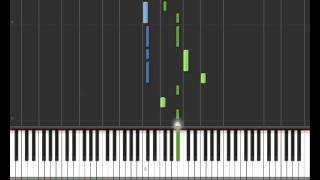 Il avait les mots (Sheryfa Luna) - Synthesia Piano Tuto