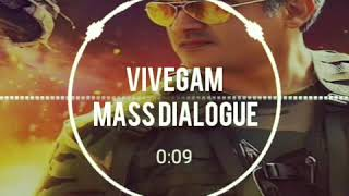 Vivegam mass dialogue