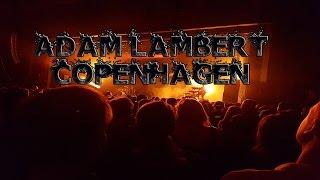 Adam Lambert Evil In The Night Copenhagen Concert 25 04 2016