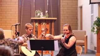 Colin and Sara's Guitar and Violin Duet - Storybook Love