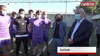 Büyükgöz, Gebzespor'un 66. yaşını kutladı!