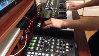 """Daft Punk - """"Digital Love"""" Solo Cover on Korg Volca Keys"""