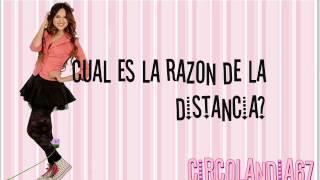 Eiza Gonzalez(Roxy Pop)- Razones - Letra - Sueña Conmigo.