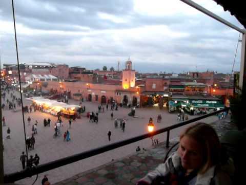 Marrakesh evening call to prayer