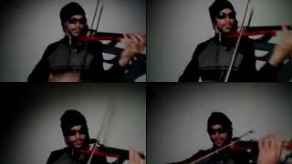 Shinsuke Nakamura Theme (The Rising Sun) Violin Cover by Stewart
