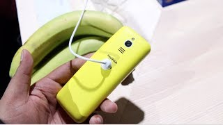 Nokia 8110 4G (2018) Banana Yellow Hands on, Camera, Features, Price width=