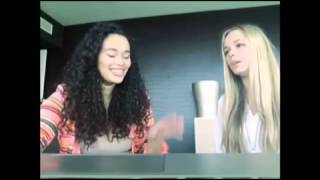 "Romy Monteiro and Romana Bruintjes have tried to sing ""end of the road - boyz ll men''"