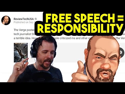 Free Speech =/= No Consequences | Response to ReviewTechUSA | The Verge PC Building Fail