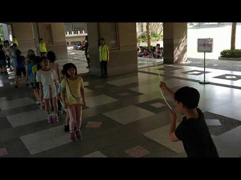 跳繩比賽第一組之五 - YouTube