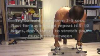 Best Planche Training - Home Workout with Rubberbands