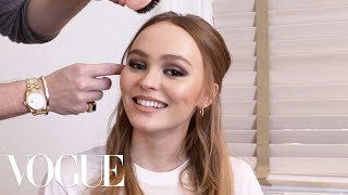 Lily-Rose Depp Gets Ready for Chanel's Métiers d'Art Show | Vogue