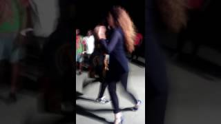Laura & Celmo dancing SEMBA in the steets of Angola 04/06/17