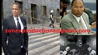 JAY-Z - The Story of O.J. facing a civil complaint law suit by OJ Simpson!