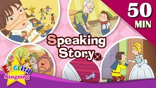 Speaking Story   50 minutes Kids cartoon Dialogues   Easy conversation   Learn English for Kids