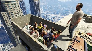 GTA 5 Epic Ragdolls GROUP SPECIAL