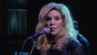 Alison Krauss I Never Cared For You Live on The Late Show