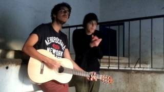 Slow dancing in a burning room (cover) Henrique e Salvador
