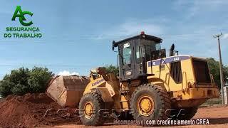 Vendas curso de formação condutor de maquinas pesadas retroescavadeira e trator