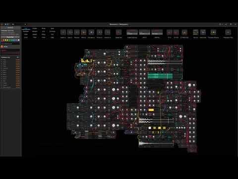 Generative patch with Bitwig the grid : BIOHAZARD 5