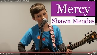 Mercy - Shawn Mendes - Cover by Ben Glanfield