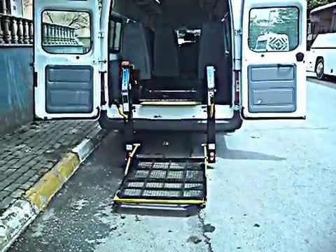 "CTM OTOMOTİV'den FORD TRANSİT Engelli Taşıma Aracı CTM - 070  "" www.ctmotomotiv.com.tr """