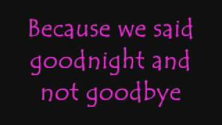 Goodnight - Evanescence (Amy Lee) lyrics